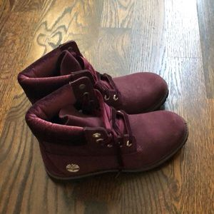 Burgundy timberlands